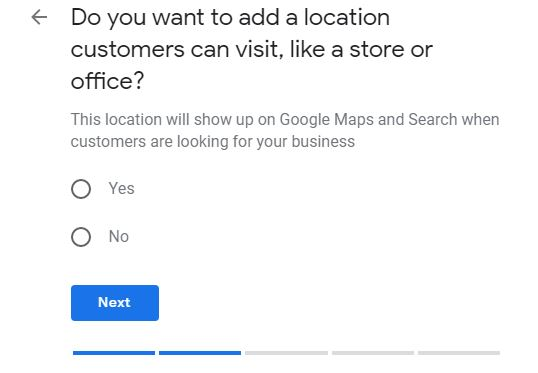 how to promote my business on google for free: Adding location to Google my business page.